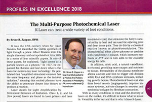 Podiatry Management Magazine Article - The Mult-Purpose Photo Chemical Laser